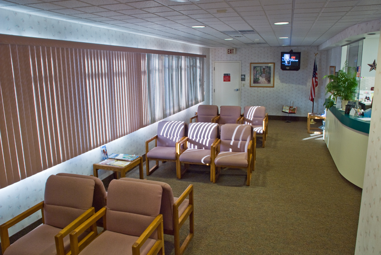 Our Spacious Waiting Area